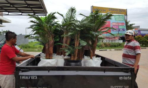 Sewa Pohon dan Tanaman Plastik